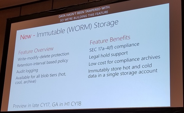 azure worm storage
